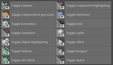 Cinema 4d Viewport Toggle Scripts